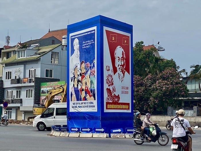 Propaganda Posters Hanoi, Vietnam
