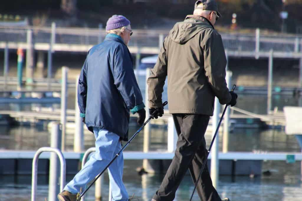 You Can Do Nordic Walking At Any Age