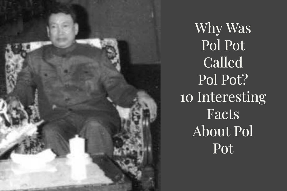 An Old Photo of Pol Pot